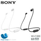 Sony 無線藍牙入耳耳機 黑/白 WI-C200 (限宅配)
