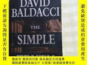 二手書博民逛書店DAVID罕見BALDACCI THE SIMPLE TRUTH