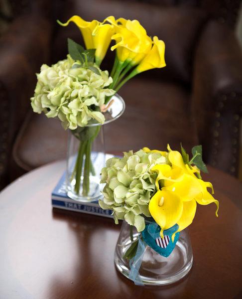模擬花假花 套裝 花藝 客廳餐桌 裝飾花 花瓶 -bri010040