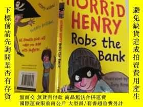 二手書博民逛書店horrid罕見henry robs the bank 可怕的亨利搶劫銀行.Y200392