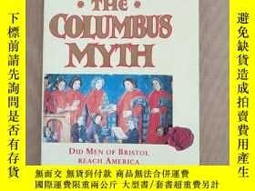 二手書博民逛書店The罕見Columbus Myth:Did men of Bristol reach America befor