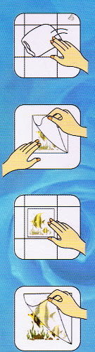 美飾園藝轉印膠片10*10cm(1入)