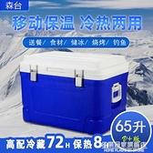 戶外車載外賣送餐冷藏箱專用大容量保鮮箱冰淇淋保溫箱商用擺攤冷 NMS名購新品