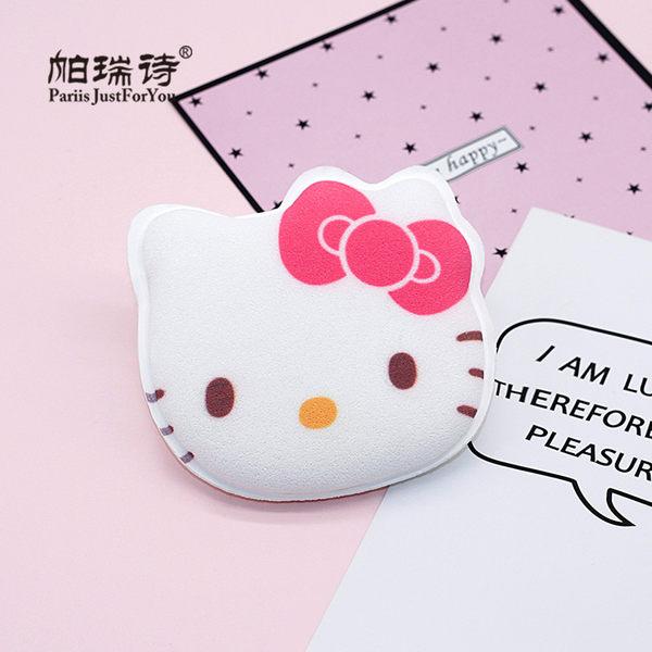 帕瑞詩Hello Kitty潔膚海綿1入  ◇iKIREI