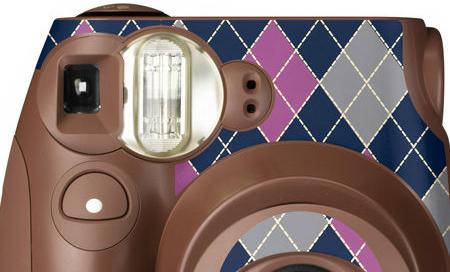 FUJIFILM instax mini 7s 拍立得專用 機身貼紙 裝飾貼紙 菱格