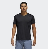 Adidas OWN THE RUN TEE 男款黑色運動短袖上衣-NO.CG2190