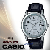 CASIO手錶專賣店 卡西歐 MTP-VS01L-7B3 指針男錶 皮革錶帶 白 太陽能 防水