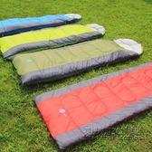 露營加厚便攜單人戶外旅游旅行保暖棉睡袋 IGO