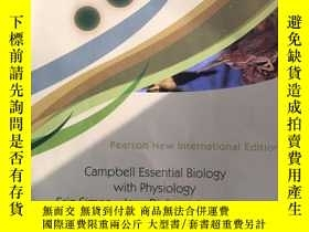 二手書博民逛書店Campbell罕見essential biology with