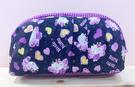 【震撼精品百貨】Hello Kitty 凱蒂貓~Hello Kitty日本SANRIO三麗鷗KITTY化妝包/筆袋-紫蝴蝶*81694