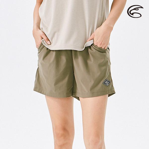 ADISI 女抗UV輕薄吸濕快乾透氣短褲AP2111059 (S-2XL) / 吸排速乾 輕薄透氣 防曬 抗紫外線 休閒褲