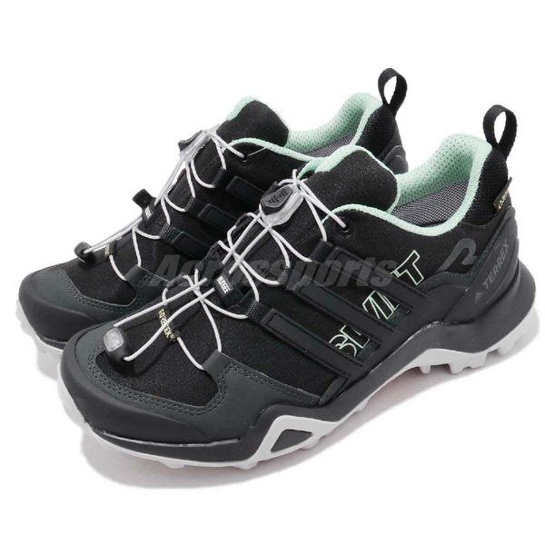【海外限定】adidas 戶外鞋 Terrex Swift R2 GTX W 黑 灰 Gore-Tex 登山 防水 運動鞋 女鞋【PUMP306】 CM7503