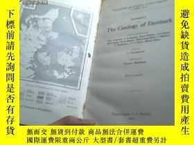 二手書博民逛書店SUMMARY罕見OF THE GEOLOGY OF DENMA