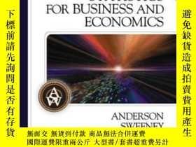 二手書博民逛書店Statistics罕見For Business And Economics, 10th Revised Edit