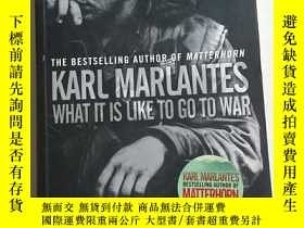 二手書博民逛書店KARL罕見MARLANTES What it is Like to Go to WarY24886