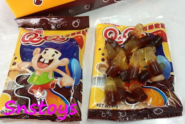 sns 古早味 乖乖QQ軟糖 QQ軟糖 可樂QQ軟糖(12入)另有 綜合水果 口味
