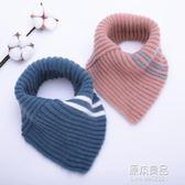 嬰兒冬季套脖男童女童三角巾6個月-4歲1秋冬兒童圍脖寶寶      原本良品