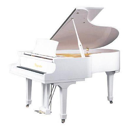 【HLIN漢麟樂器】SPRATE平台演奏鋼琴-WH-152-白色亮光緩降-152cm