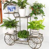 聖誕節交換禮物-花架鐵藝多層歐式組裝落地式花幾花架子BLNZ