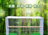 鳥籠子大號八哥金屬特大號虎皮鸚鵡斑鳩百靈鵪鶉鴿子籠養殖籠【限時八折】