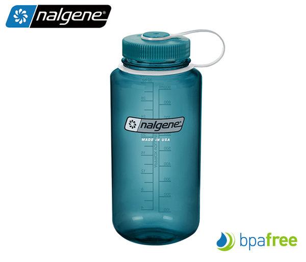 丹大戶外用品【Nalgene】1000c.c寬嘴水壺 2178-2061 橄欖