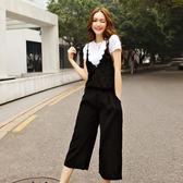 中大尺碼~蕾絲拼接兩件式短袖T恤上衣(不含褲子)(XL~5XL)