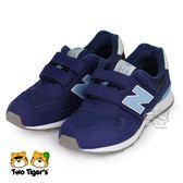 New Balance 313 深藍 魔鬼氈 運動鞋 中童鞋 NO.R3441