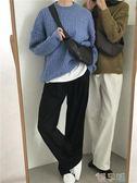 小眾包搭配 2019小眾設計新款 時髦牛角形斜背包胸包腰包  【四月特賣】