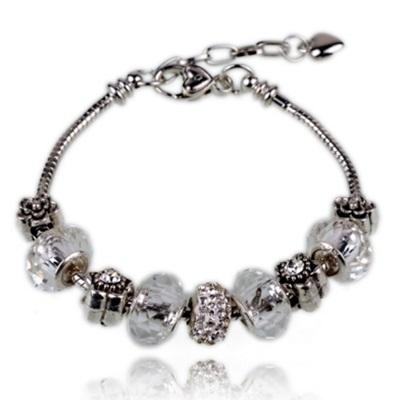 串珠手鍊-水晶飾品真愛鑲鑽生日情人節禮物女配件6色73bg42【時尚巴黎】