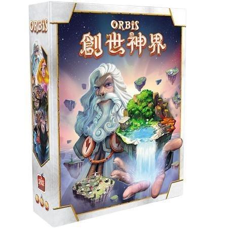 『高雄龐奇桌遊』 創世神界 Orbis 繁體中文版 正版桌上遊戲專賣店