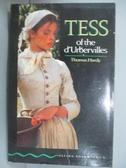 【書寶二手書T8/原文小說_JRT】TESS OF THE D URBERVILLES_THOMAS HARDY