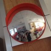 交通室外道路廣角鏡80cm交通反光鏡轉角彎鏡車庫鏡凸球面鏡防盜鏡WD 中秋節全館免運