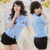 情趣內衣套裝女式制服OL職業裝香港警察空姐制服性感激情表演套裝 森雅誠品