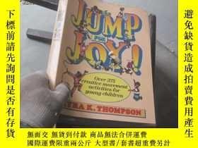 二手書博民逛書店JUMP罕見FOR JOY9827219636 THOMPSON