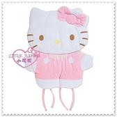 小花花日本精品♥ Hello Kitty 嬰兒床墊睡墊多功能墊嬰兒車、兒童座椅墊 公仔造型55012102