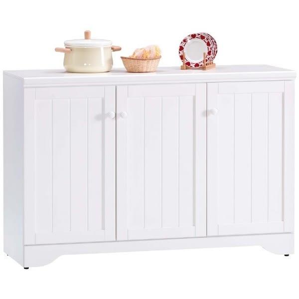 櫥櫃 餐櫃 AM-494-4 葛妮絲純白4尺餐櫃【大眾家居舘】
