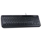 Microsoft USB 標準鍵盤 600 (黑)
