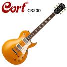 ★CORT★CR200-GT嚴選電吉他-金色