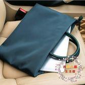 一件85折免運--筆電包簡約商務手提包男女公事包13.3寸14寸15.6寸筆電包檔袋