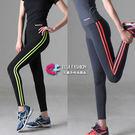 有氧韻律瑜珈服 雙線條超彈力緊身跑步健身...
