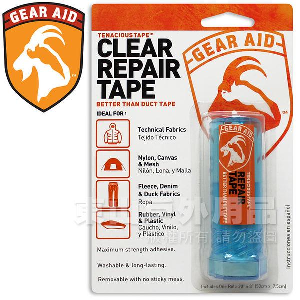 Gear Aid   McNett 10691 Tenacious Tape透明修補片 膠帶狀透明補丁/緊急修補包/修護片/戶外工具