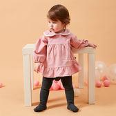 荷葉邊娃娃領背扣式洋裝 童裝 裙子