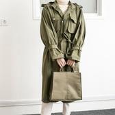 文件袋大容量防水簡約韓版潮商務公文手提包男女帆布辦公包LX 聖誕交換禮物