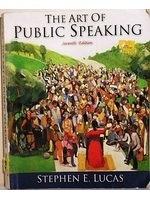 二手書博民逛書店 《The Art of Public Speaking》 R2Y ISBN:0071180036│StephenE.Lucas