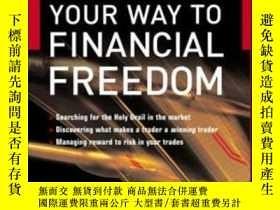 二手書博民逛書店Trade罕見Your Way To Financial Fre