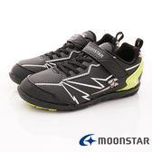 【MOONSTAR】日本月星頂級競速童鞋 究極強2E系列 SSJ8636黑(中大童段)-N