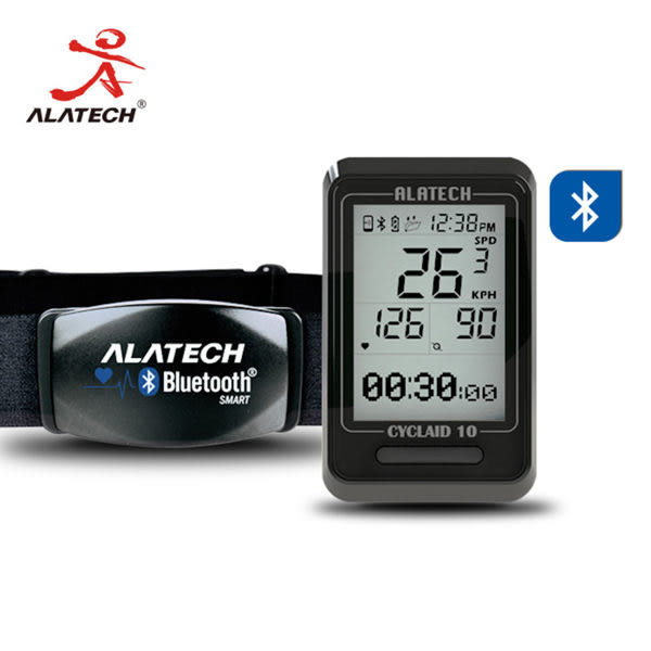 ALATECH 藍牙自行車錶心跳帶超值組 CB300+CS011 (OS shop)