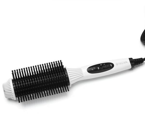 防燙捲髮棒兩用內扣捲髮器電捲梳不傷髮空氣瀏海電捲棒直髮梳神器【快速出貨】