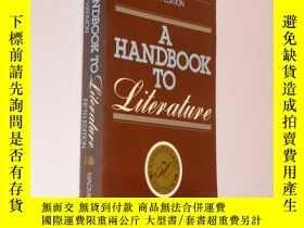 二手書博民逛書店A罕見Handbook To Literature fifth