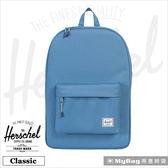 Herschel 後背包 藍色 經典後背包 Classic-1057 MyBag得意時袋